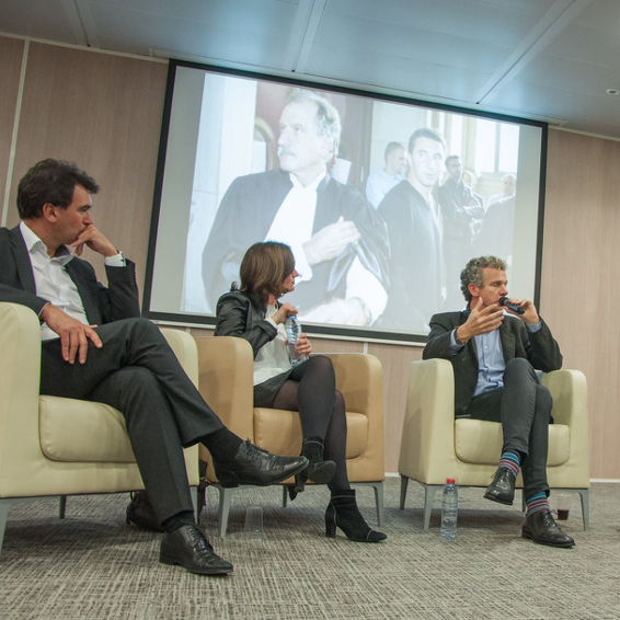 Nicolas Sekkaki, Gilles Babinet et Nathalie Beaudemoulin